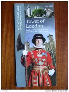 Tower of London brochure
