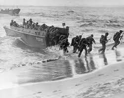 landing craft beach